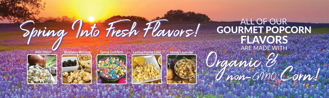Spring flavors are here